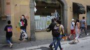 Il murales di Tvboy (New Press Photo)