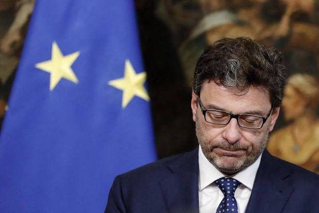 Il sottosegretario alla presidenza Giancarlo Giorgetti (Ansa)