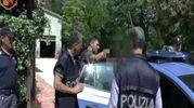 L'arresto (foto Ansa)