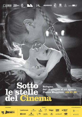 Il manifesto di Sotto le stelle del cinema, dal 18 giugno al 15 agosto 2018