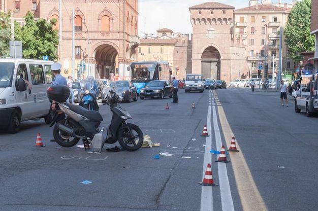 Porta San Felice sullo sfondo (FotoSchicchi)