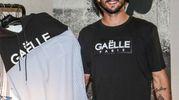 Mattia Perin, neoportiere della Juventus, a Pitti Uomo allo stand dei francesi di Gaëlle (foto LaPresse)