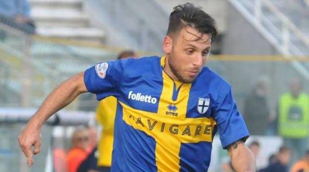 L'attaccante Fabio Lauria ai tempi di Parma