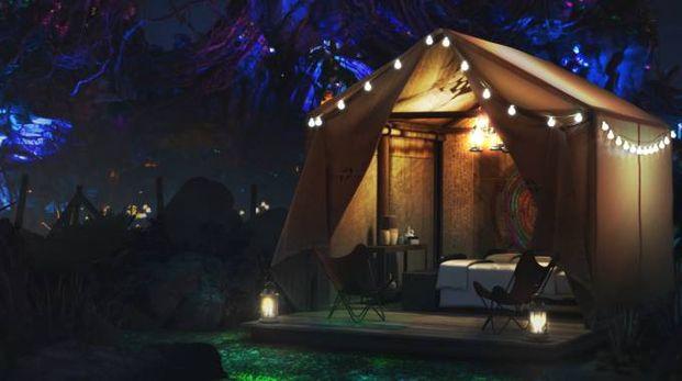 Una notte in tenda sul pianeta Pandora - Foto: Walt Disney World / parks.disney.com