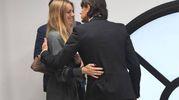 Il momento di tenerezza tra Angela e Pippo  (FotoSchicchi)