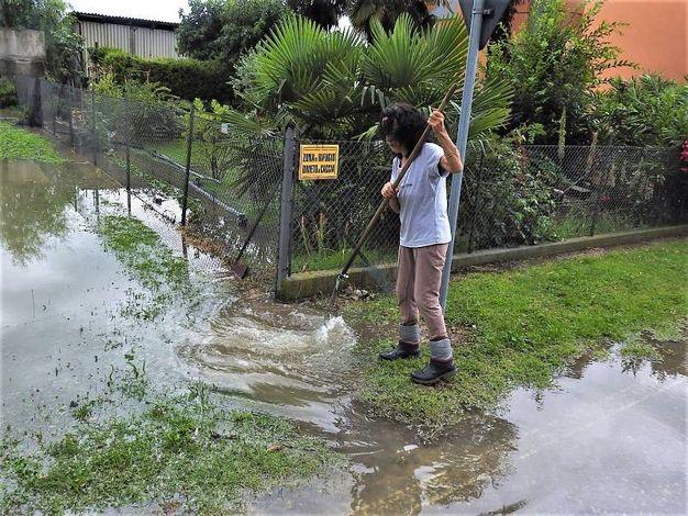 Nella zona di Fusignano in 90 minuti sono caduti circa 70 millimetri di pioggia (Scardovi)