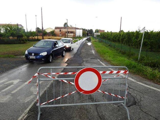 In mattinata via Pistola è stata chiusa al traffico (Scardovi)