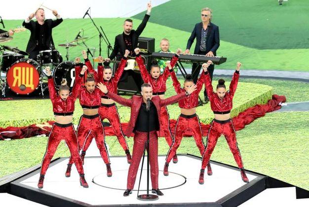 Russia 2018, cerimonia di apertura (Ansa)