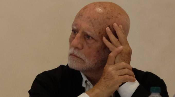 Ferdinando Scianna alla presentazione della sua mostra (foto Frasca)
