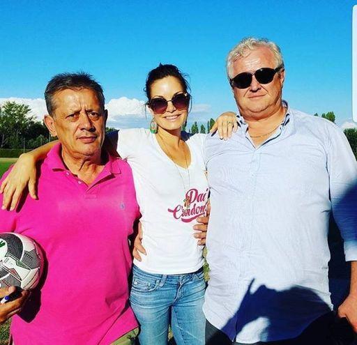 Alicia Rickter, ex attrice di Baywatch e modella di Playboy, è la moglie del presidente granata Mike Piazza