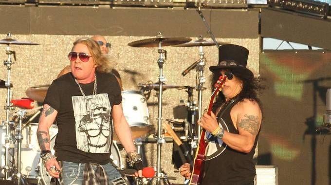 Firenze  Rocks, Guns'n Roses (Tania Bucci/New Press Photo)
