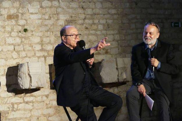 Carlo Verdone a Prato (foto Gianni Attalmi)