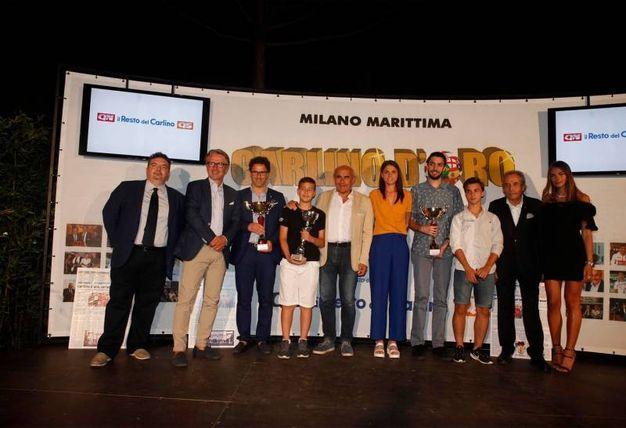 I vincitori assoluti (Foto Corelli)