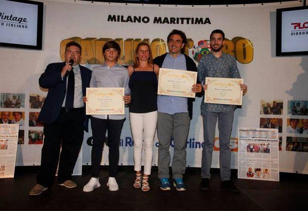 I premiati della provincia di Macerata (Foto Corelli)