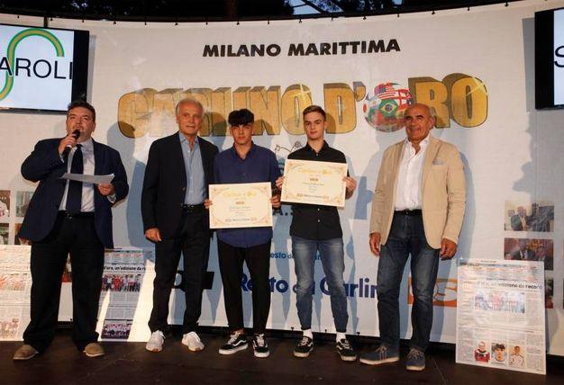 I premiati web della provincia di Pesaro (Foto Corelli)