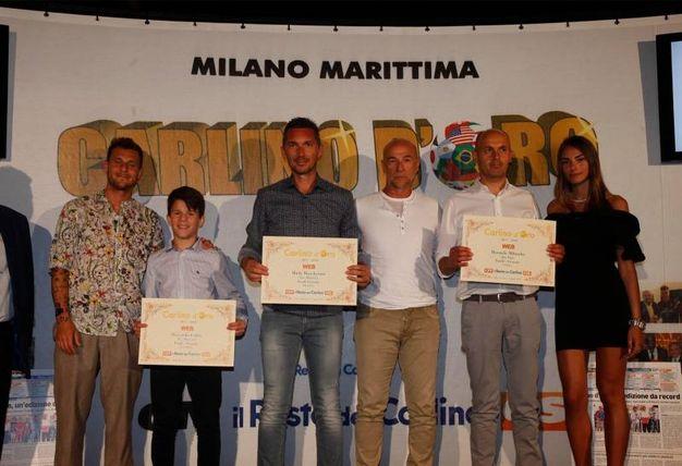 I premiati web della provincia di Forlì e Cesena (Foto Corelli)