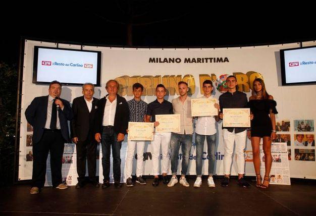 I premiati della provincia di Rovigo e Ferrara (Foto Corelli)