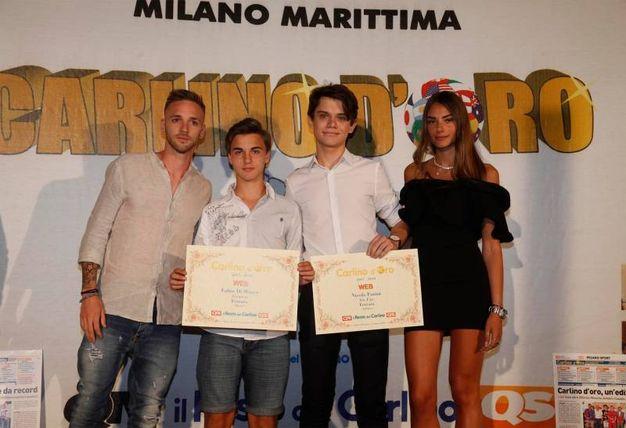 I premiati web della provincia di Rovigo e Ferrara (Foto Corelli)