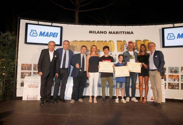 I premiati della provincia di Rovigo e Imola (Foto Corelli)