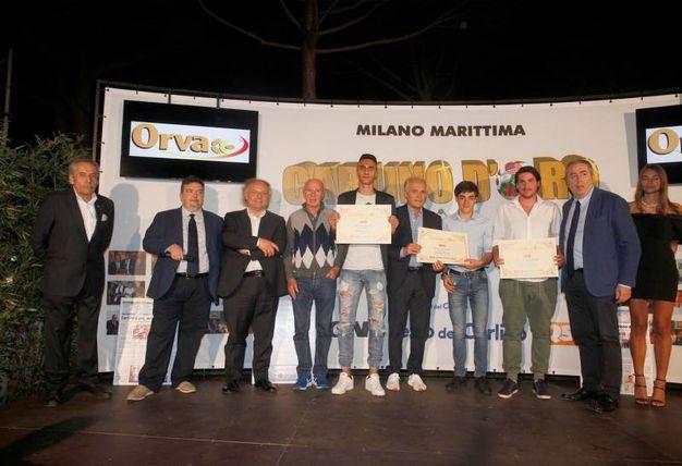 I premiati web della provincia di Rovigo e Bologna (Foto Corelli)