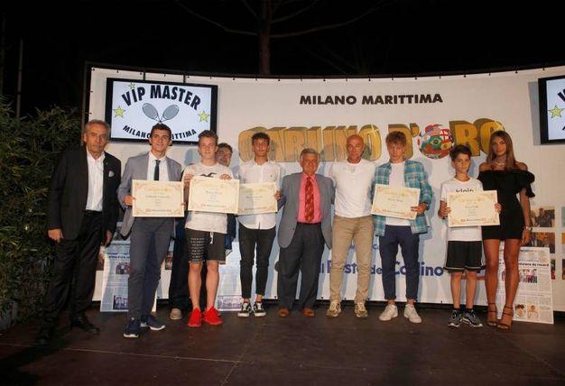 I premiati della provincia di Rimini (Foto Corelli)