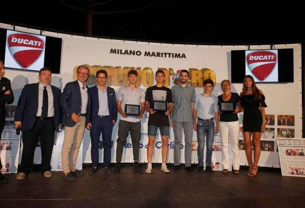 I premiati della classifica generale juniores (Foto Corelli)