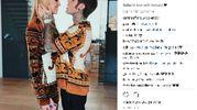 Il post di Fedez su Instagram: in love with Versace
