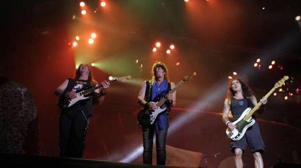 Iron Maiden in concerto
