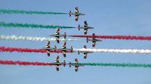 Lo spettacolo delle Frecce Tricolori (FotoPrint)