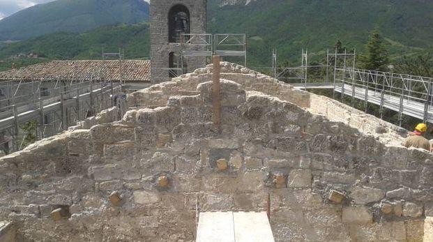 Viaggio nell'arte ferita dal terremoto in Abruzzo, l'abbazia di Monte Santo (Teramo)
