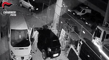 """Un frame del video dell'operazione """"Vampiri"""" dei Carabinieri"""