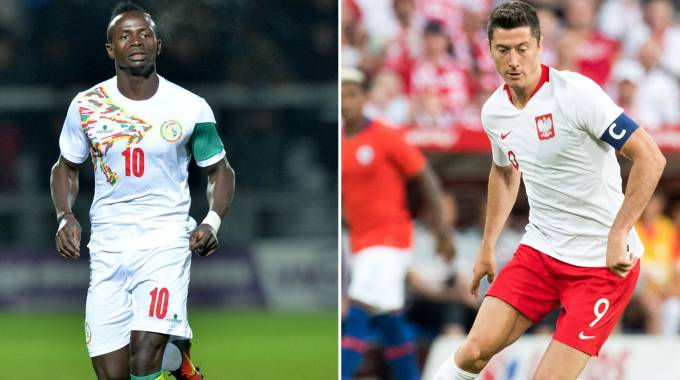 La sfida tra Mané e Lewandowski