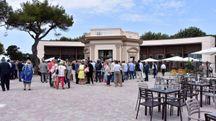 Lo chalet della Rotonda (Foto Lanari)