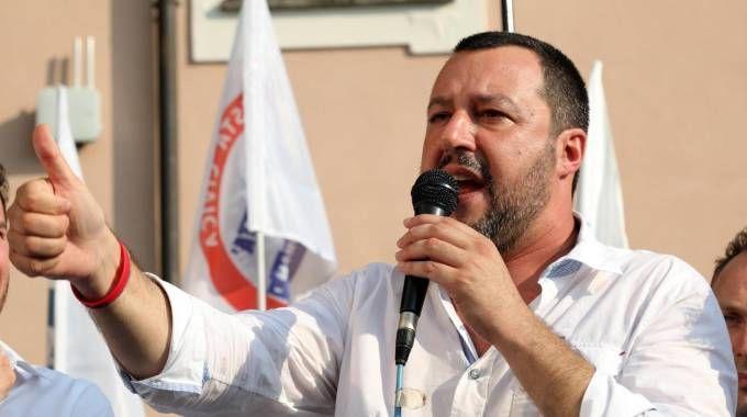 Il ministro dell'Interno Matteo Salvini (Ansa)