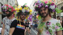 Bologna Pride in una foto d'achivio Schicchi