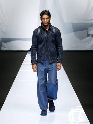 Il modello Akash Kumar, protagonista dell'ultima edizione di 'Ballando con le Stelle'