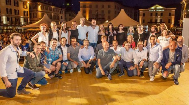 Il team che sostiene Scaramellini