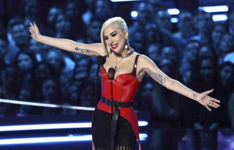 Mtv Awards 2018, Lady Gaga (Ansa)