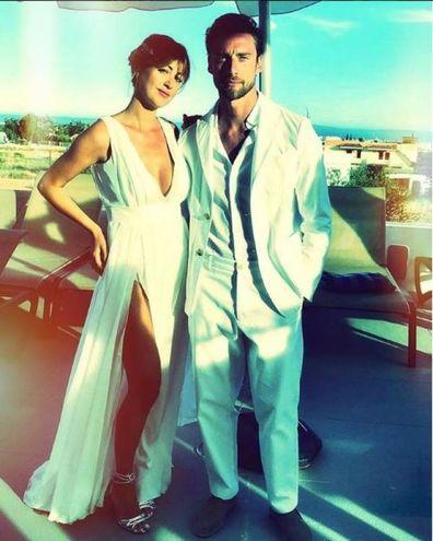 Claudio Marchisio (Juventus) con la moglie Roberta Sinopoli a Ibiza (Instagram)