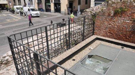 L'installazione danneggiata (Torres)