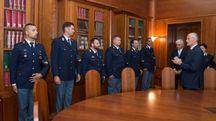 I poliziotti eroi premiati a Roma