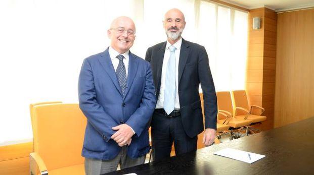 Assolodi, il presidente Francesco Monteverdi e il direttore generale Righetti