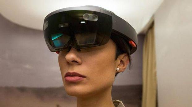 Un esempio di innovazione tecnologica che consente all'osservatore di essere immerso nella realtà che lo circonda