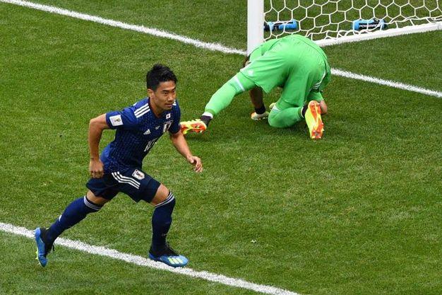 Colombia-Giappone 0-1, Kagawa (LaPresse)