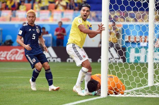 Colombia-Giappone 1-1, Quintero (LaPresse)