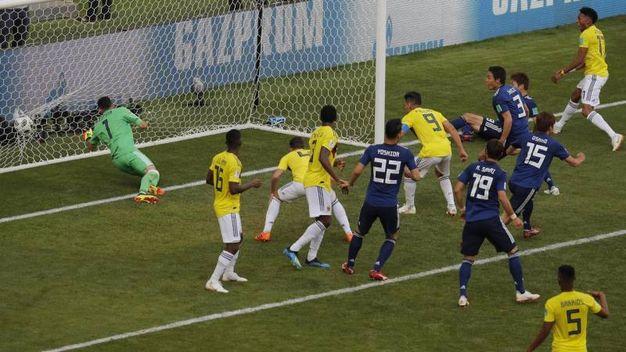 Colombia-Giappone 1-2, Osako (LaPresse)