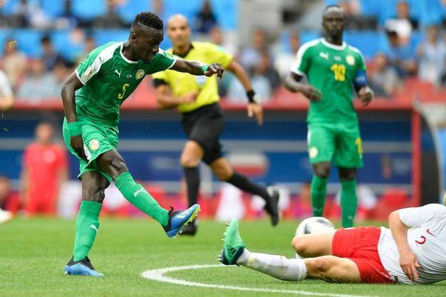 Polonia-Senegal 0-1, autogol di Cionek (LaPresse)