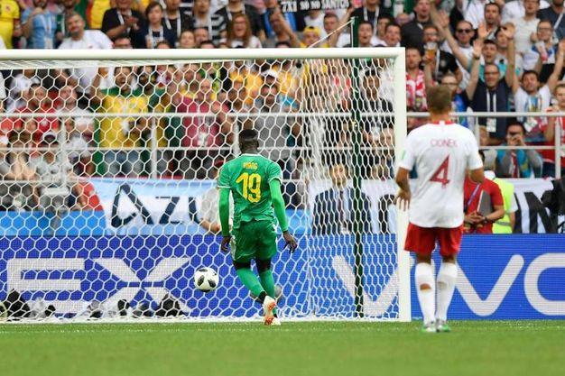 Polonia-Senegal 0-2, Niang (LaPresse)