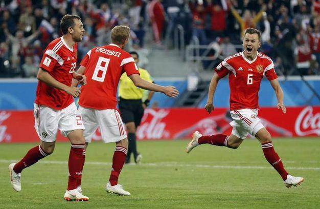 Russia-Egitto 2-0, Cheryshev (Ansa)
