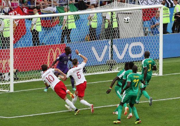 Polonia-Senegal 1-2, Krychowiak (Ansa)